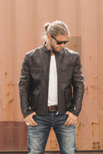 ROKKER Goodwood Leather Jacket